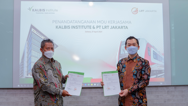 Kalbis Institute dan PT LRT Jakarta Sepakati Kerja Sama Pendidikan