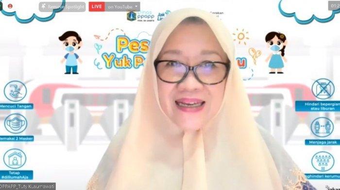 PT LRT Jakarta Gelar Webinar Sharing Session 'Pesan Ibuku, Yuk Pakai Maskermu